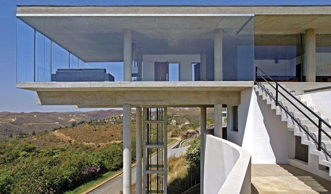 Arquitetura e vidro revista vidro impresso for High end house builders