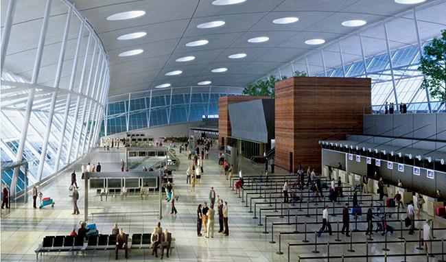 Aeroporto Internacional de Carrasco, em Montevidéu