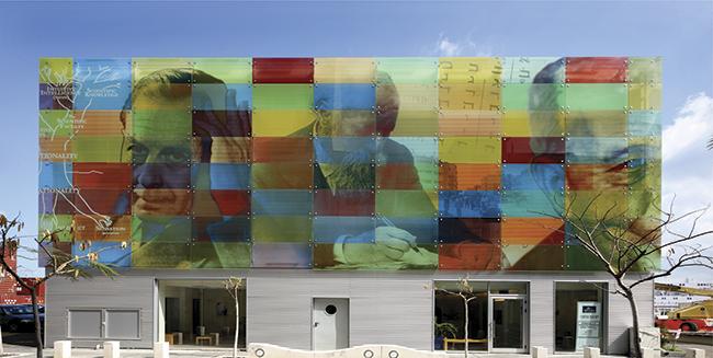 Campos Carmem Haifa, em Israel.