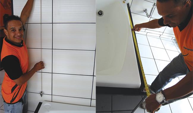 Banho Confortável - Passo 1