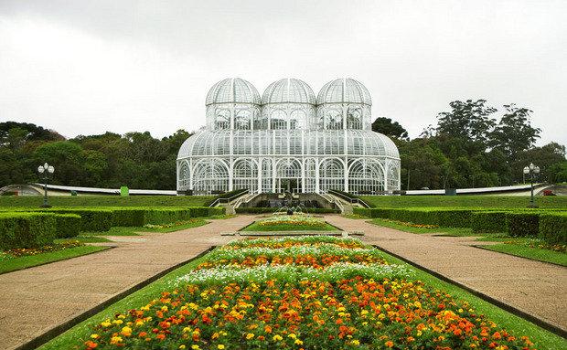 A maravilhosa estufa do Jardim Bot?nico de Curitiba ...