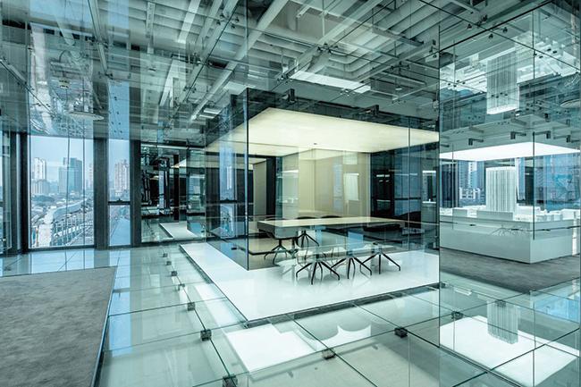 Soho Glass Office Xangai, China