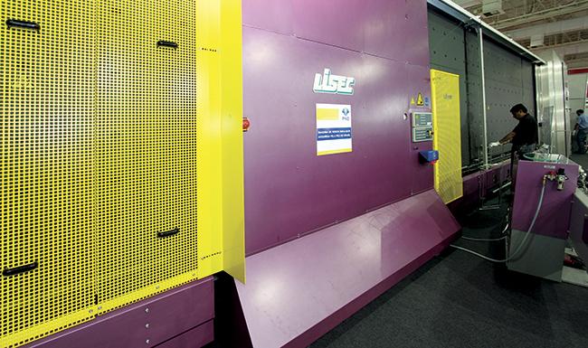 Máquina produtora de vidros insulados da PKO