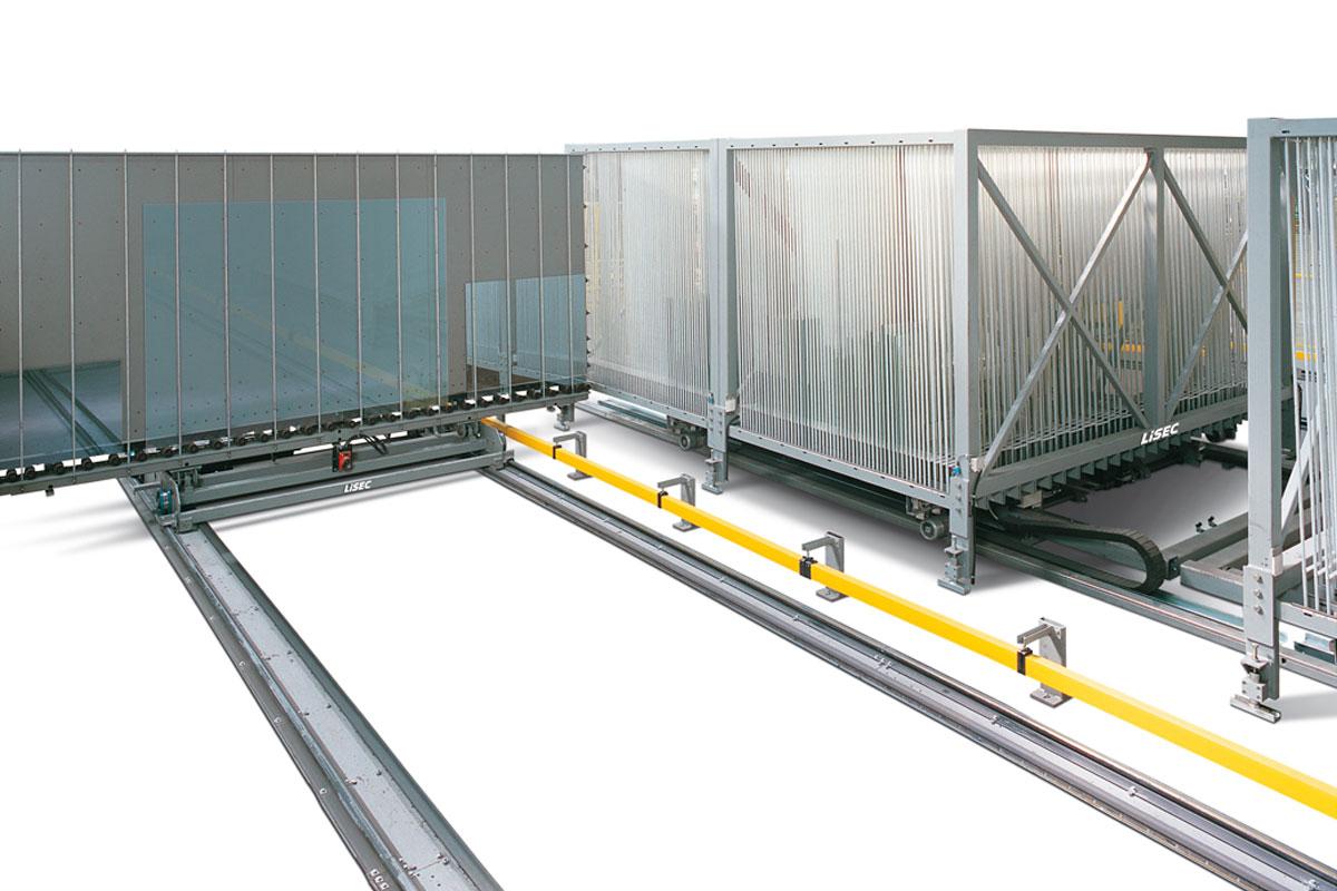 Sistema sorting automático da Lisec