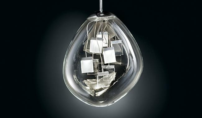 luminária Spore de Massimo Iosa Ghini