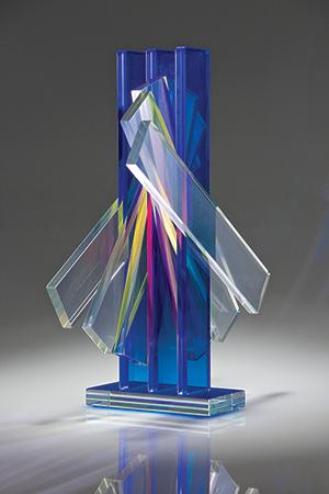 Escultura em Vidro Sidney Hutter