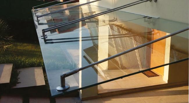 sistemas de teto de vidro
