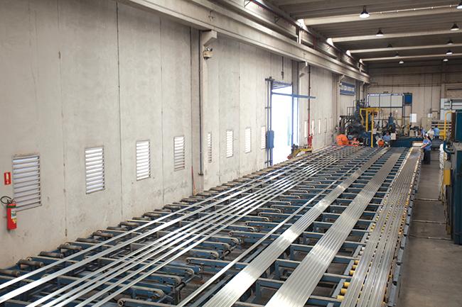 Linha de produção da empresa em Indaiatuba, no interior de São Paulo